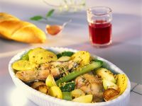 Baked Carp with Vegetables recipe