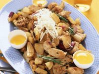 Baked Chicken Breast with Root Vegetables recipe