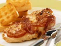 Baked Chicken Breast Wrapped in Ham recipe