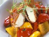 Baked Chicken with Bell Peppers recipe