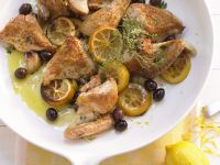Baked Chicken with Olives recipe