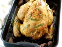 Baked Chicken with Tarragon and Garlic recipe