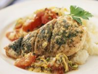 Baked Chicken with Vegetable Ragu recipe