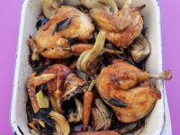 Baked Chicken with Veggies recipe
