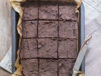 Baked Cocoa Squares recipe