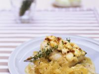 Baked Cod with Caramelized Onions recipe