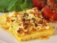 Baked Cornmeal Squares recipe