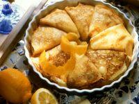 Baked Crêpes with Quark Filling recipe