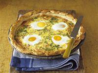 Baked Egg Tart recipe