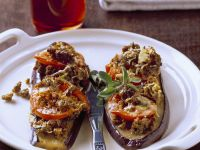Baked Eggplant with Cheese and Tomato recipe