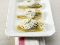 Baked Endive with Goat Cheese recipe