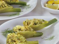 Baked Fennel with Fish Stuffing recipe