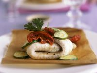 Baked Fillets of Sole with Dried Tomatoes recipe