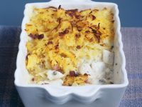 Baked Fish and Potato Dish recipe