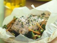 Baked Fish En Papillote recipe