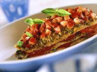 Baked Fish Fillets with Tomatoes recipe
