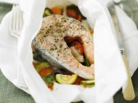 Baked Fish Parcels recipe