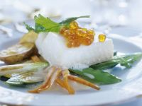 Baked Fish with Salmon Roe recipe