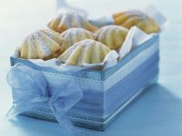 Baked French Shell Cakes recipe
