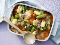 Baked Gnocchi and Asparagus recipe