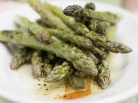 Baked Greens (Asparagus) recipe
