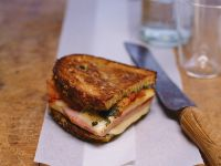 Baked Ham and Cheese Sandwich recipe