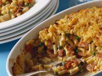Baked Ham Mac & Cheese recipe