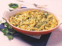 Baked Herb Spaetzle Gratin recipe