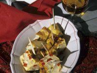 Baked Kohlrabi and Potato Cubes recipe