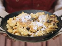 Baked Lemon-Raisin Pancake recipe