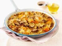 Baked Mushroom Frittata recipe