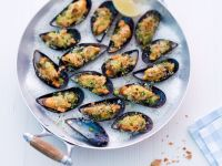 Baked Mussels recipe