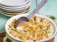 Baked and Filled Pasta recipe