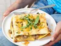 Baked Pasta with Pork Ragout recipe