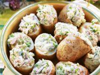 Stuffed Potato Halves recipe