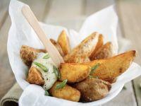Baked Potato Wedges recipe