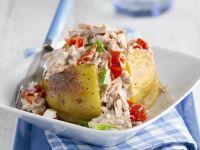 Baked Potato with Tuna Salad recipe