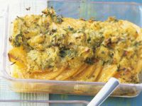 Baked Pumpkin Gratin with Parmesan and Breadcrumbs