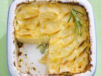 Baked Sliced Potato Gratin recipe