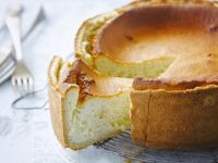 Baked Soft Cheese Gateau recipe