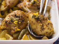 Baked Spiced Chicken Legs recipe