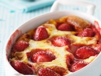 Baked Strawberry Clafoutis recipe