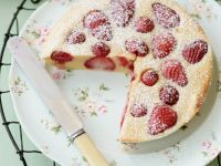 Baked Strawberry Pancake recipe