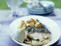 Baked Stuffed Fish recipe