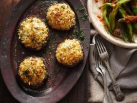 Baked Stuffed Mushrooms recipe