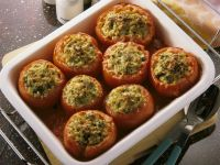 Baked Stuffed Tomatoes recipe