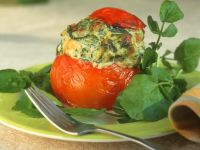 Baked, Stuffed Tomatoes recipe