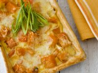 Baked Tart Dish with Pumpkin recipe