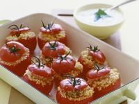 Baked Tomatoes with Filling recipe