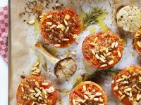 Pignoli Tomato Halves recipe